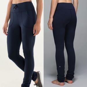 Lululemon Skinny Will Inkwell Pants sz 8